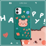Cute Little Bear Camera Protect phone case