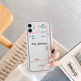Simple Design Fashion Sketch Iphone Case