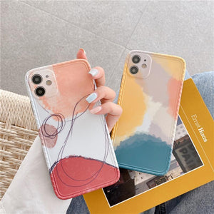 Minimalist Art Design iPhone Case