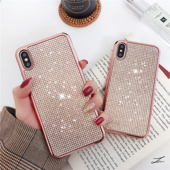 Fashion Shinning Diamond Casing