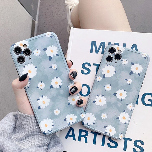 Pretty Watercolor Daisy IPhone Case