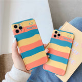 Pretty Fashion Colored Stripe Casing