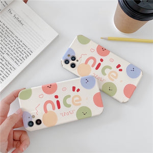 Nice Simple Colorful Casing Iphone