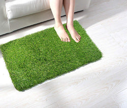 Artificial Green Grass 52mm Heaviest Quality Doormat- 16 X 24 Inch