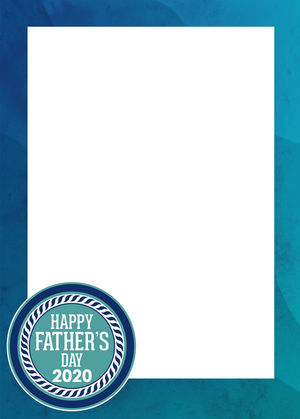 FREE 2020 Father's Day Digital Border