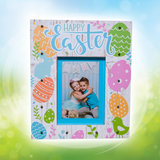 Happy Easter Marquee Light Up Wooden Frame