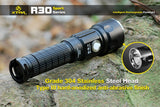 XTAR R30 U2 LED Sport Flashlight Set - XTAR Direct