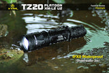 XTAR TZ20 Platoon CREE XM-L2 U2 LED 840 Lumens Tactical Flashlight Set - XTAR Direct