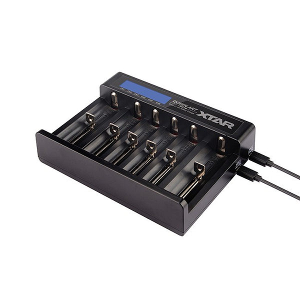XTAR MC6 Queen Ant 6-Port Charger - XTAR Direct