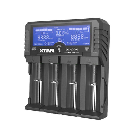 XTAR VP4 PLUS DRAGON Charger - XTAR Direct