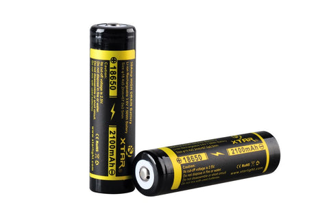 XTAR Sony VTC4 18650 2100mAh Battery (Unprotected) Button Top - XTAR Direct