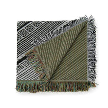 Load image into Gallery viewer, Woven Throw & Picnic Rug - Dizzy Miss Lizzy