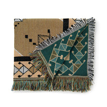 Load image into Gallery viewer, Woven Throw & Picnic Rug - Nowhere Man