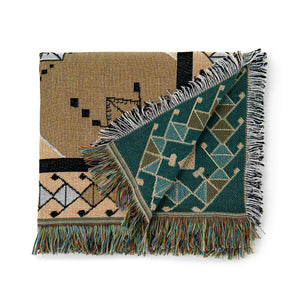 Woven Throw & Picnic Rug - Nowhere Man