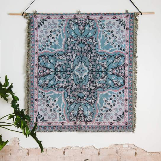 Woven Throw & Picnic Rug - All You Need is Love