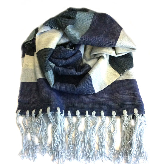 Bamboo Scarf - Blues