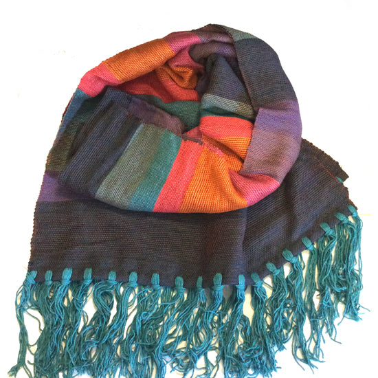 Bamboo Scarf - Candy Apple