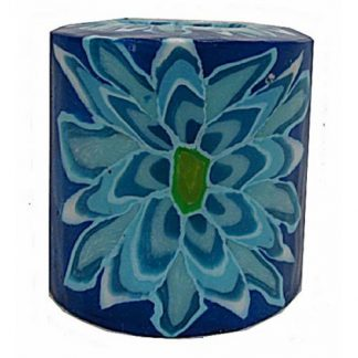Swazi Candles - Blue Flower