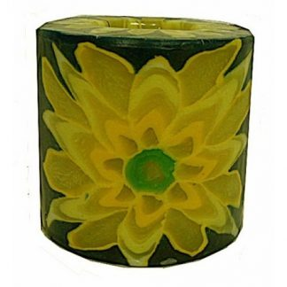 Swazi Candles - Yellow Flower