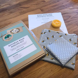 Beeswax Wrap Kits by Sunnyfields Honey & Home