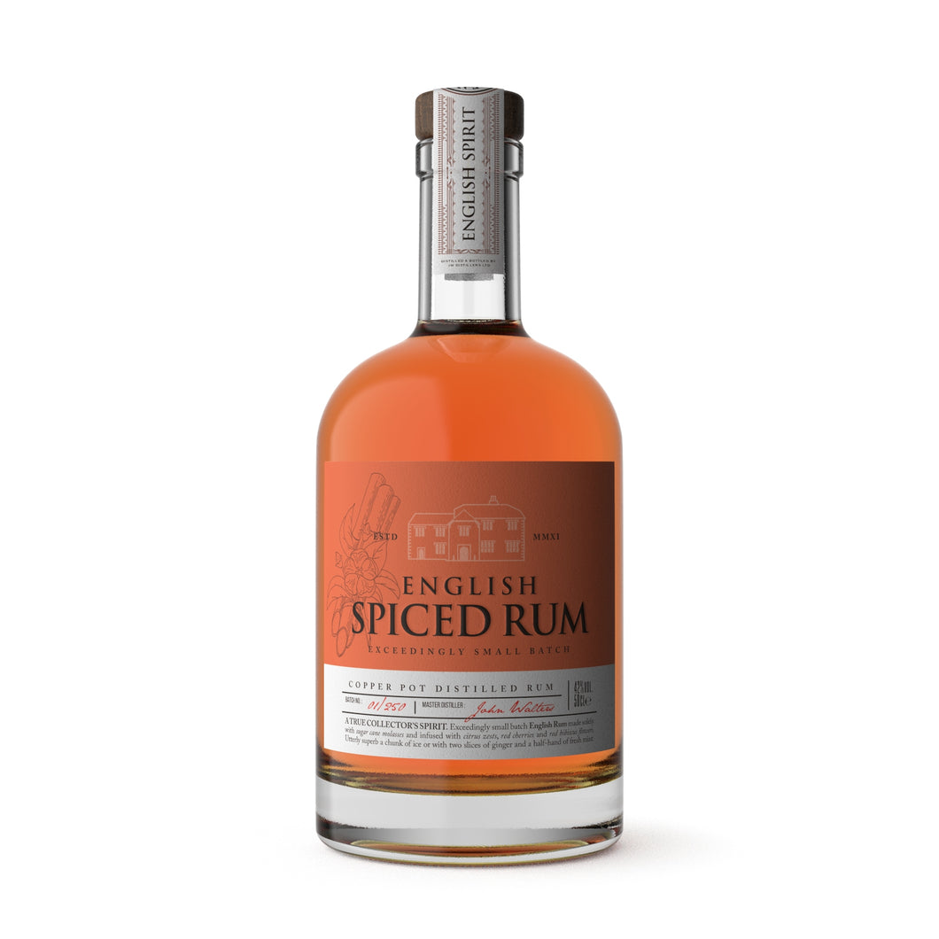 English Spiced Rum by the English Spirit Distillery