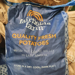 Potatoes from Fairfields Farm