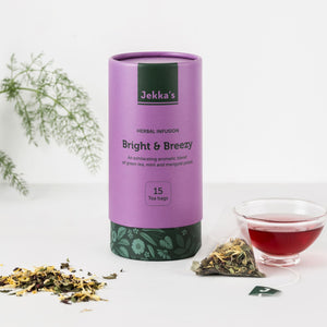 Bright & Breezy Herbal Infusions by Jekka