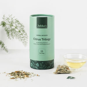 Citrus Trilogy Herbal Infusions by Jekka