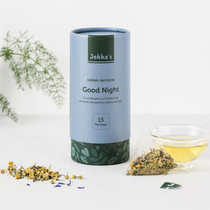 Good Night Herbal Infusions by Jekka