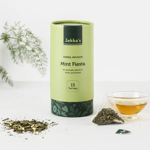 Mint Fiesta Herbal Infusions by Jekka