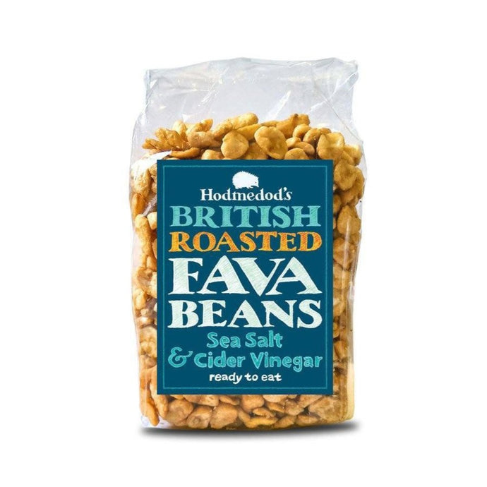 Sea Saly & Cider Vinegar Roasted Fava Beans