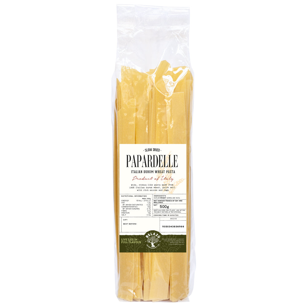pappardelle dried pasta