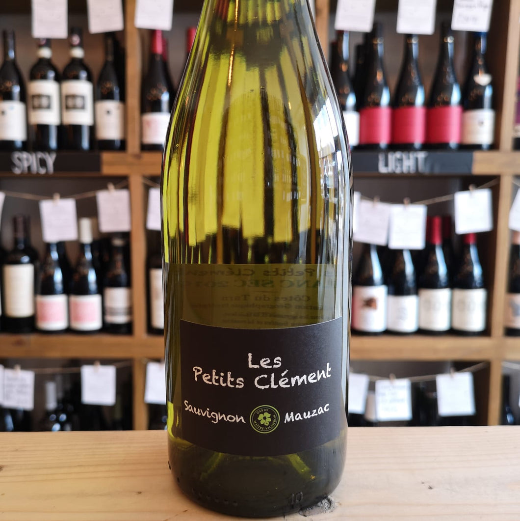 Bottle of Petits Clement Sauvignon Mauzac