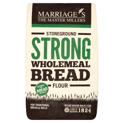 Marriage's Strong Brown Wholemeal Stoneground Flour
