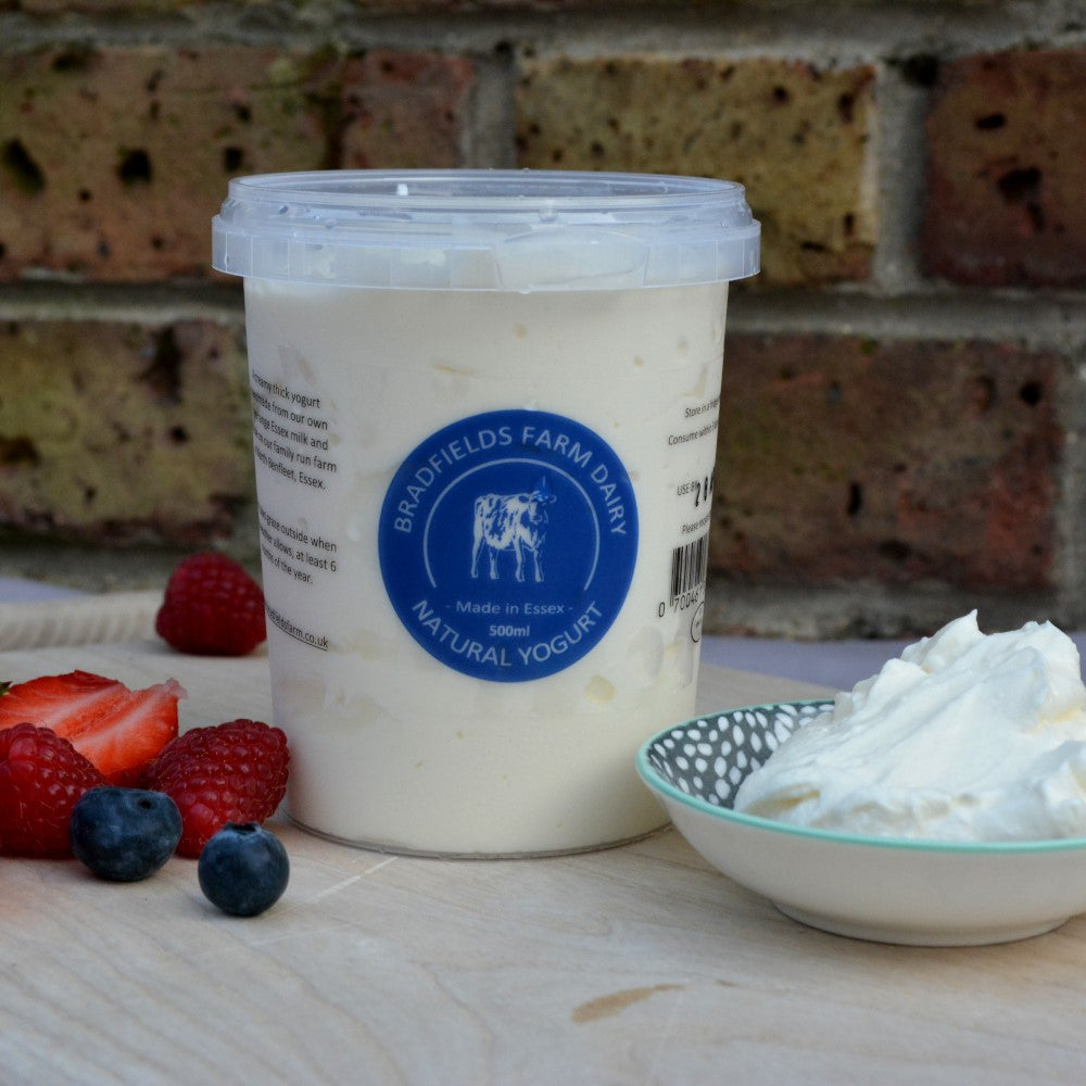 Thick Natural Yoghurt by Bradfields Farm Dairy