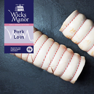 Pork Loin by Wicks Manor Farm