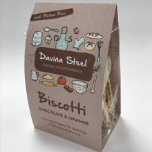 Load image into Gallery viewer, Chocolate & Orange Biscotti by Davina Steel