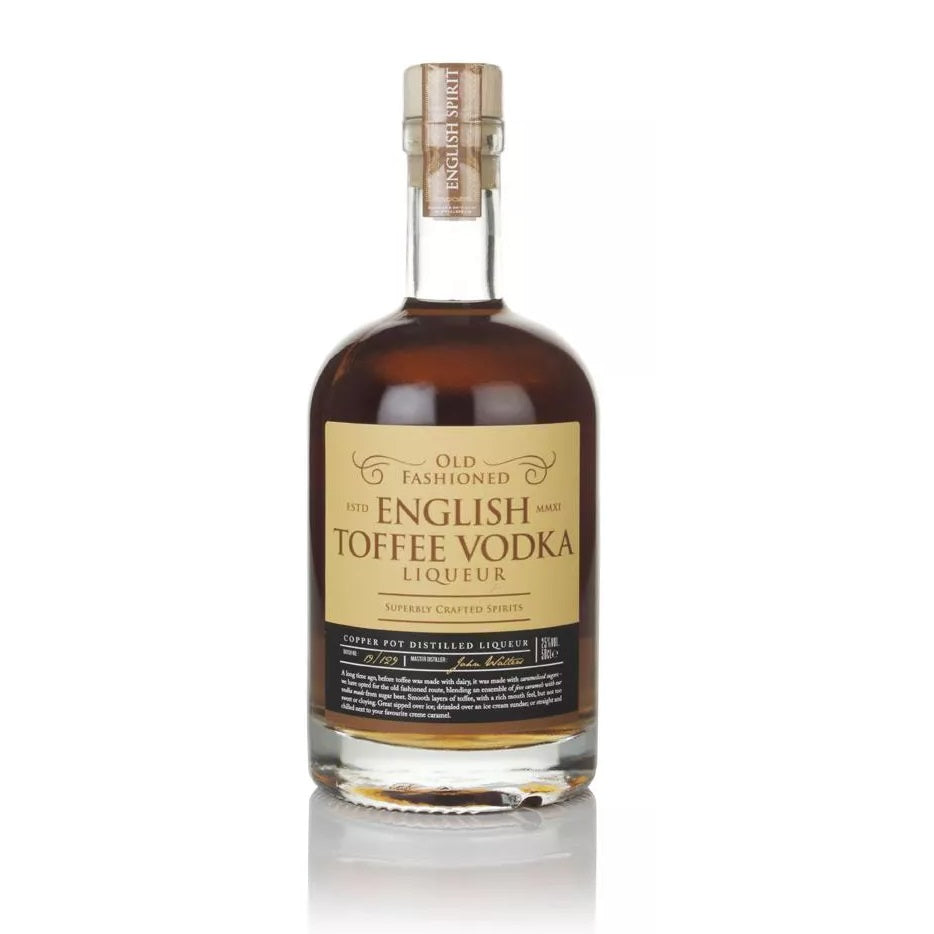 Toffee Vodka by the English Spirit Distillery