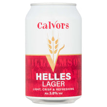 Load image into Gallery viewer, Helles Lager Fridge Pack (4 x 330ml cans)