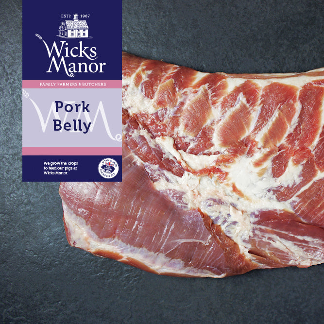 Pork Belly by Wicks Manor Farm