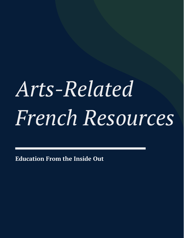 Arts-Based French Resources