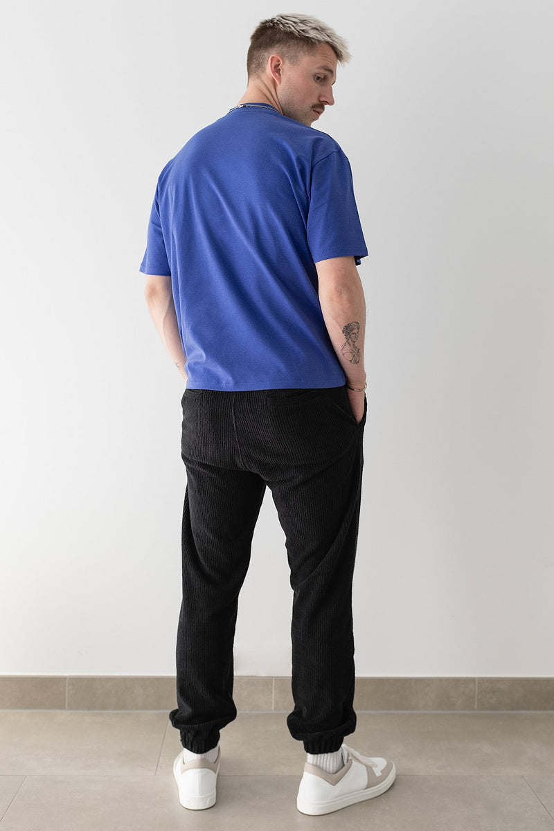 Slim Fit Towelling Joggers