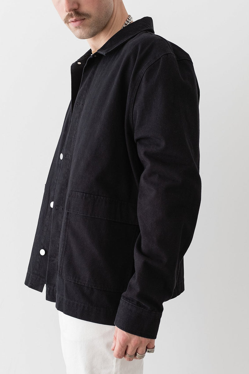 Patch Pocket Worker Jacket