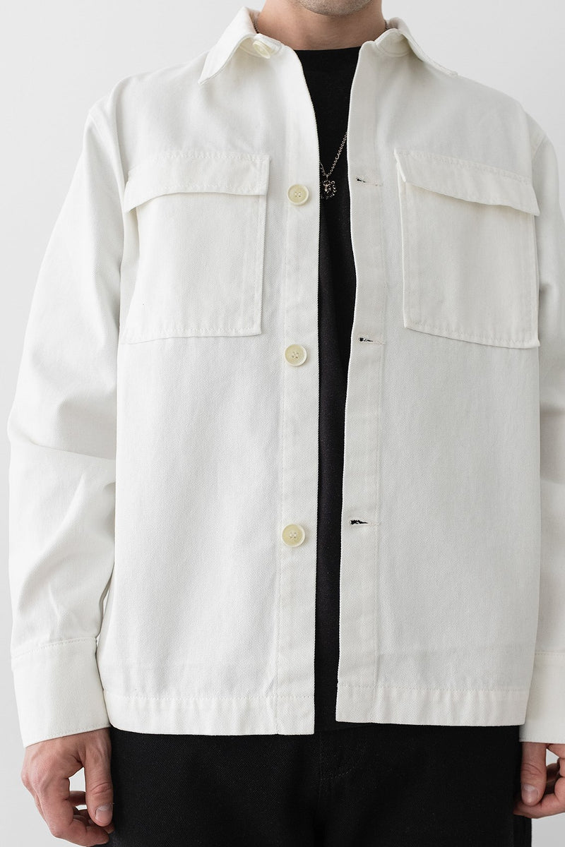 Patch Pocket Oversized Shirt