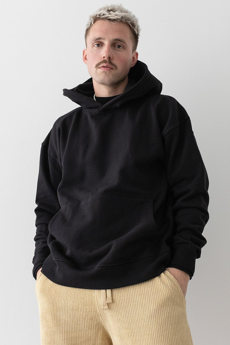 100% Recycled Layered Cuff Hoodie