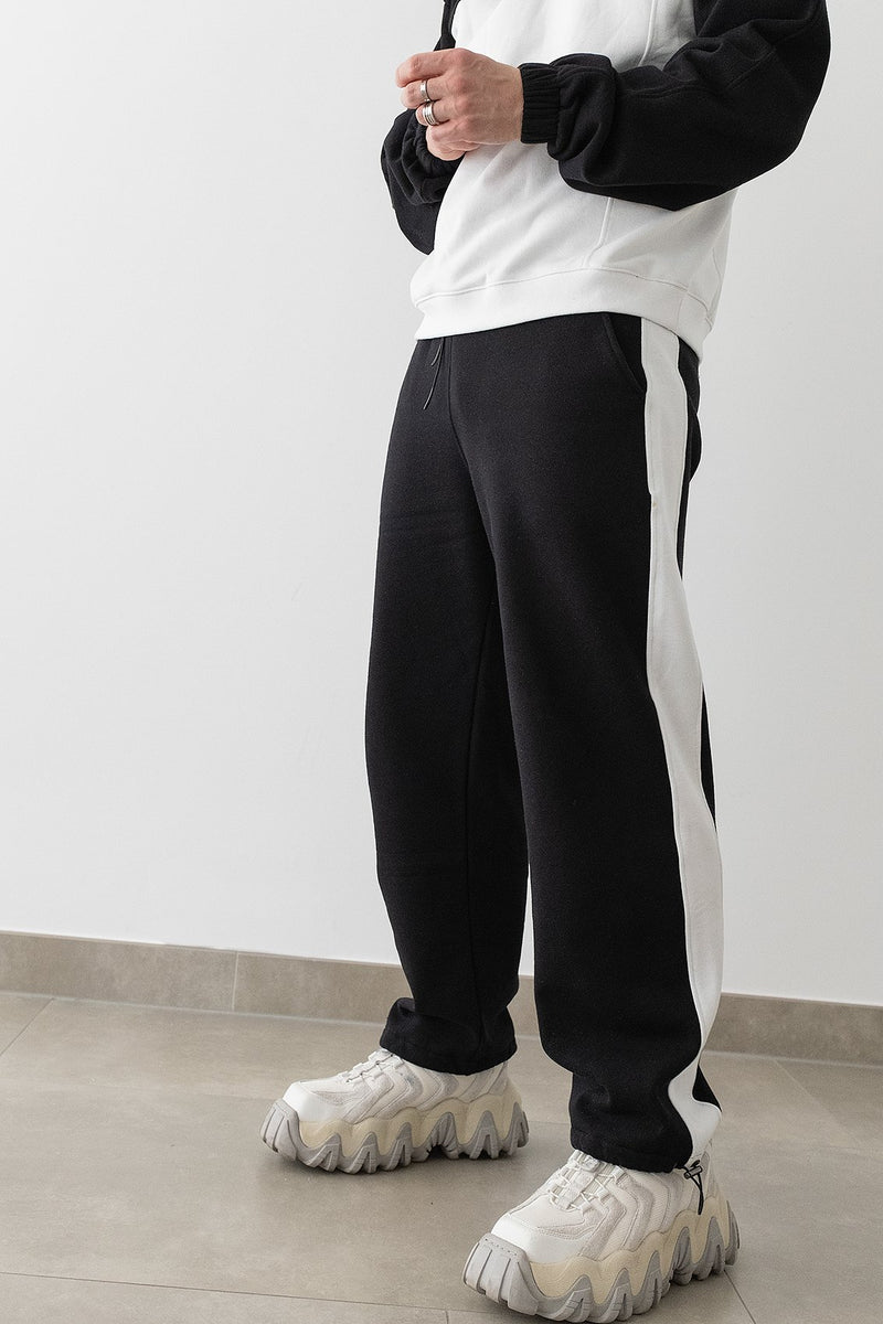 100% Recycled Colour Block Joggers
