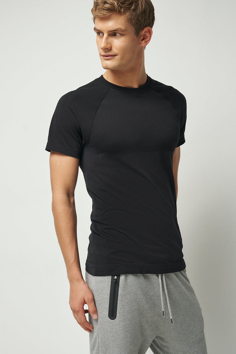 Seamless Slim Fit Muscle T-shirt