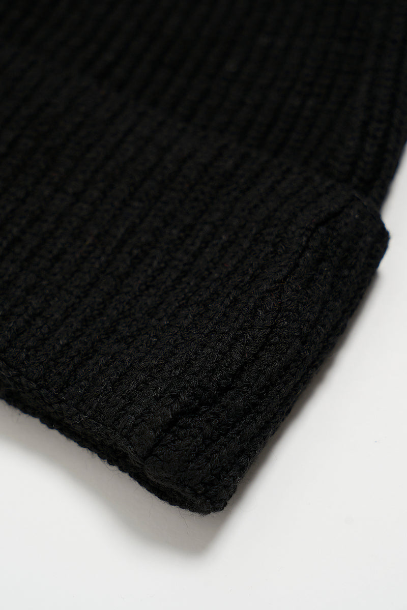 Fine Knit Turn Up Beanie