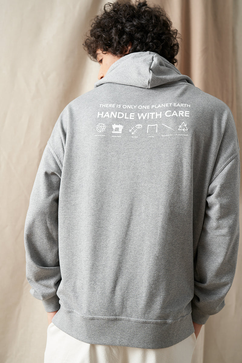 Handle With Care Unisex Oversized Hoodie