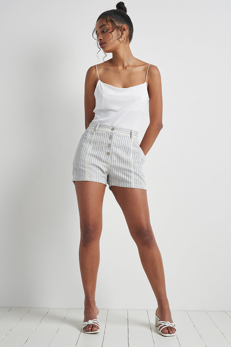 Swingbob Short Pin Stripe